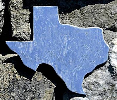 Photograph - Texas Rocks by Nadalyn Larsen