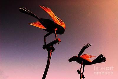 Mixed Media - Texas Sculpture Garden Frisco by Bob Pardue