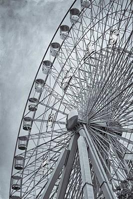 The Circle Game Photograph - Texas Star by Joan Carroll