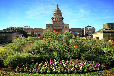 Photograph - Texas State Capitol 2 by Judy Vincent