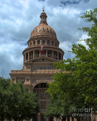 Photograph - Texas State Capitol 2 by Luther Fine Art