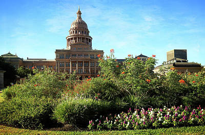 Photograph - Texas State Capitol 3 by Judy Vincent
