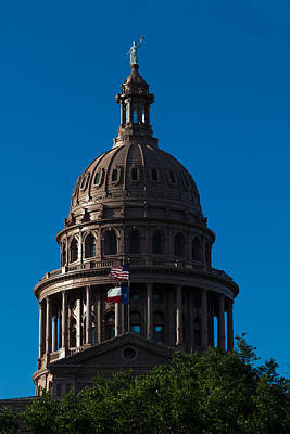 Photograph - Texas State Capitol by Ed Gleichman