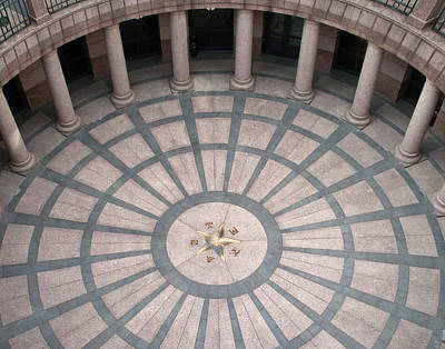 Photograph - Texas State Capitol Extension  by David and Carol Kelly