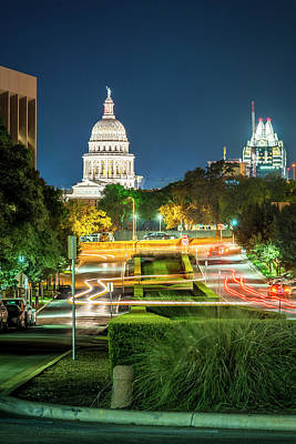 Photograph - Texas State Capitol University Of Texas by Andy Crawford