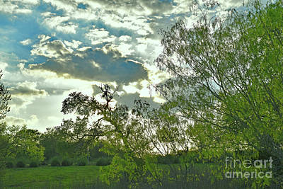 Photograph - Texas Stormy Day - Beautiful Sunset by Ray Shrewsberry