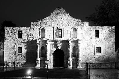 Photograph - Texas Strong Bw by Rospotte Photography