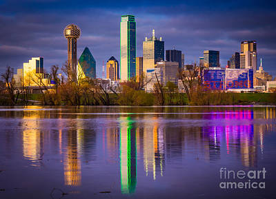 Reflective Photograph - Texas Strong by Inge Johnsson