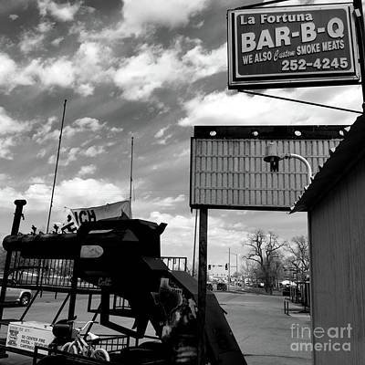 Texas Style Bbq Art Print by Greg Camp