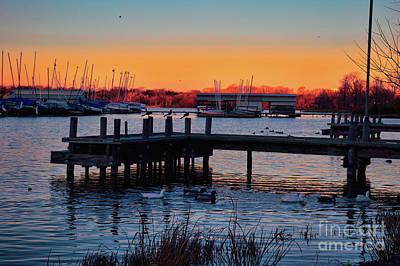 Photograph - Texas Sunset by Diana Mary Sharpton