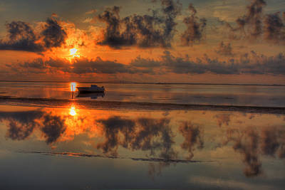 Kevin Hill Photograph - Texas Sunset Gulf Of Mexico by Kevin Hill