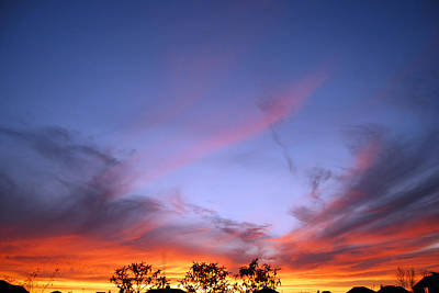 Photograph - Texas Sunset by Paulette B Wright