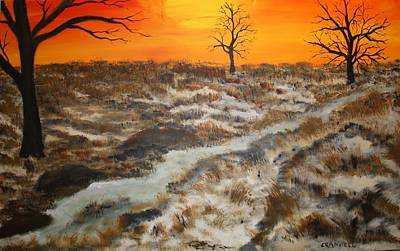 Low Price Painting - Texas Sunshine  by Mark Prescott Crannell