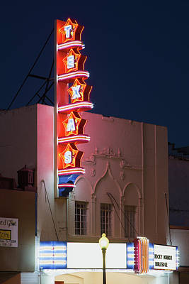 Photograph - Texas Theater 31517 by Rospotte Photography