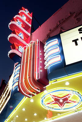Photograph - Texas Theater Dallas 121417 by Rospotte Photography