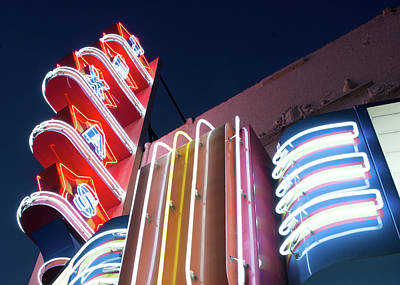 Photograph - Texas Theater Oak Cliff 121517 by Rospotte Photography