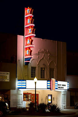 Photograph - Texas Theater Oak Cliff by Rospotte Photography