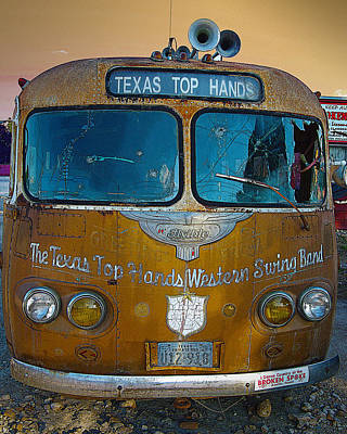 Texas Top Hands Art Print