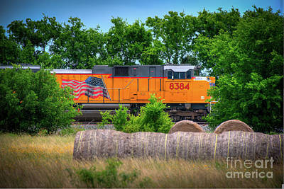 Photograph - Texas Train by Kelly Wade