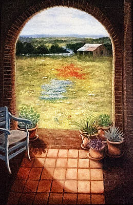 Painting - Texas View by Patti Gordon