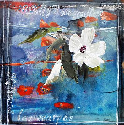 Painting - Texas Wildflowers Tp C by Michael Dillon