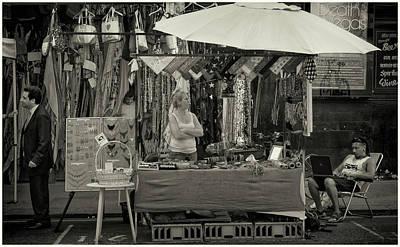 Photograph - Textiles by Stewart Marsden