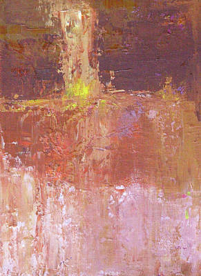 Painting - Textura De Melocoton by Nancy Merkle