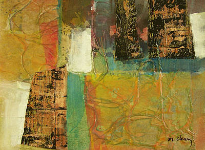 Painting - Textural Notions by Melody Cleary