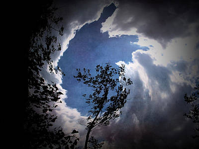 Photograph - Texture Drama Into The Sky by Aimee L Maher Photography and Art Visit ALMGallerydotcom
