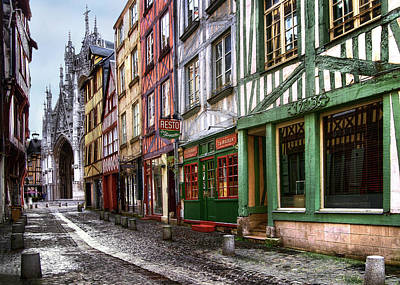 Photograph - Texture Of Rouen by Jim Hill