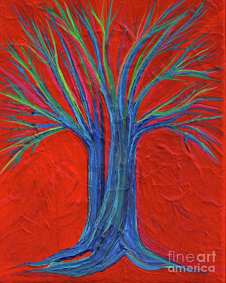 Painting - Texture Tree By Jrr by First Star Art