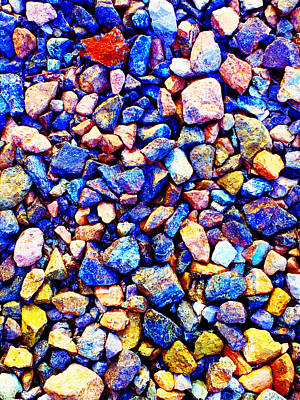 Photograph - Colorful Stones by Cristina Stefan