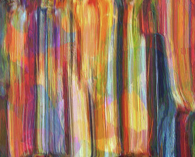Painting - Textured Abstract Number 5 by Dan Sproul