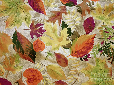 Photograph - Textured Autumn by D Hackett
