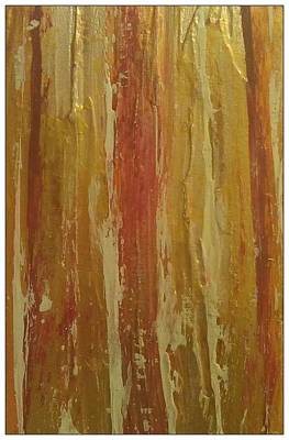 Painting - Textured Cinnamon by Sonya Wilson