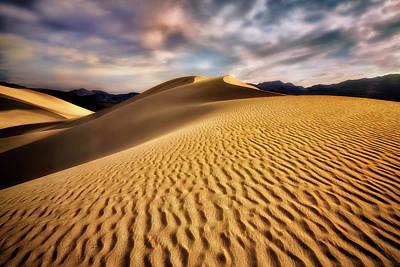Textured Dunes  Art Print by Nicki Frates