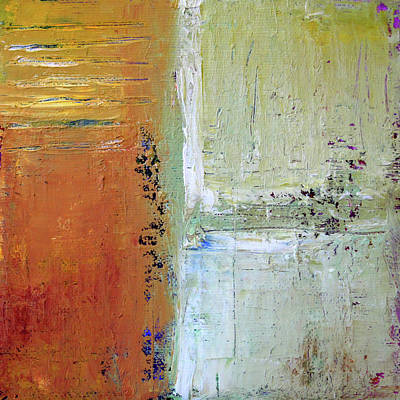 Painting - Textured Square No 1 by Nancy Merkle