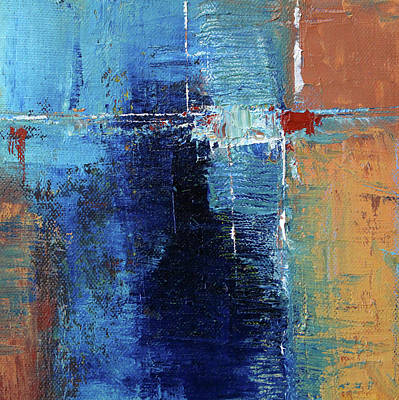 Painting - Textured Square No. 2 by Nancy Merkle