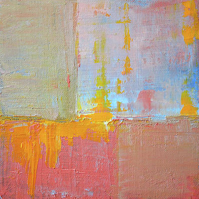 Painting - Textured Square No. 3 by Nancy Merkle