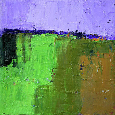 Painting - Textured Square No. 4 by Nancy Merkle
