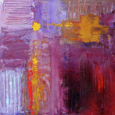 Painting - Textured Square No. 5 by Nancy Merkle
