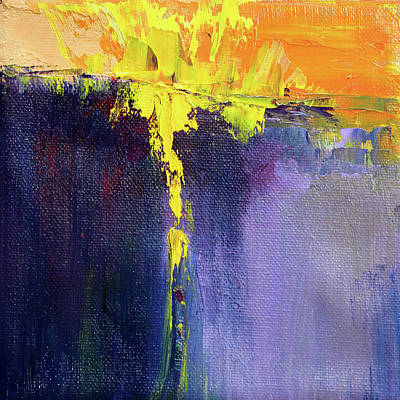 Painting - Textured Square No. 7 by Nancy Merkle
