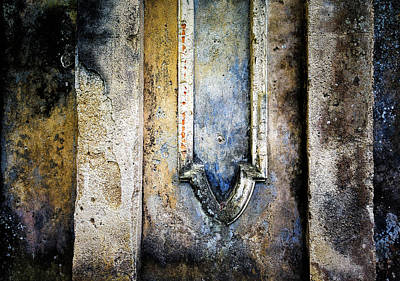 Photograph - Textured Wall by Marion McCristall