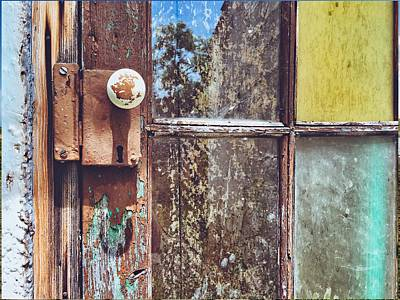 Photograph - Textures And Colors Offered By A Door by Cristina Cristo