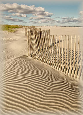 Photograph - Textures At The Beach by Carolyn Derstine