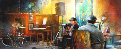 Painting - Tha Hambone Gallery In Clarksdale by Miki De Goodaboom