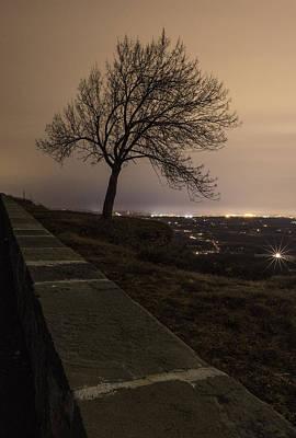 Photograph - Thacher Park Twilight by Brad Wenskoski