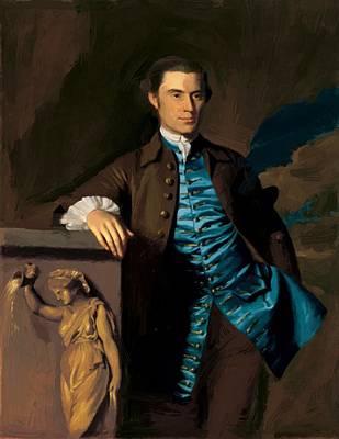 Painting - Thaddeus Burr 1760 by Copley John Singleton
