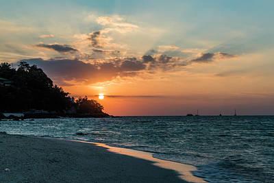 Photograph - Thai Beach Sunset  by Scott Cunningham