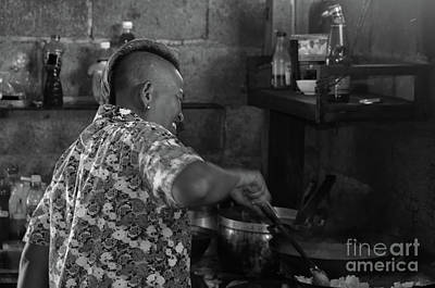 Photograph - Thai Cook by Michelle Meenawong